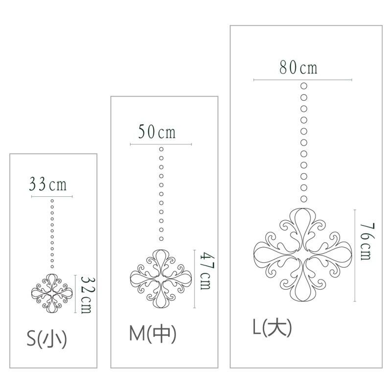 Kreative Blumenmuster Dekorative 3D Acryl Spiegel Wandaufkleber ...