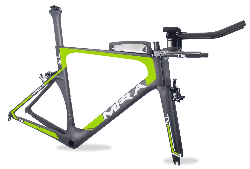 2018 MIRACLE Aero Carbon tt Frame paint Triathlon bikes 49/52/54/56/59cm 700c bicicleta Carbon time trial bike TT05 цена