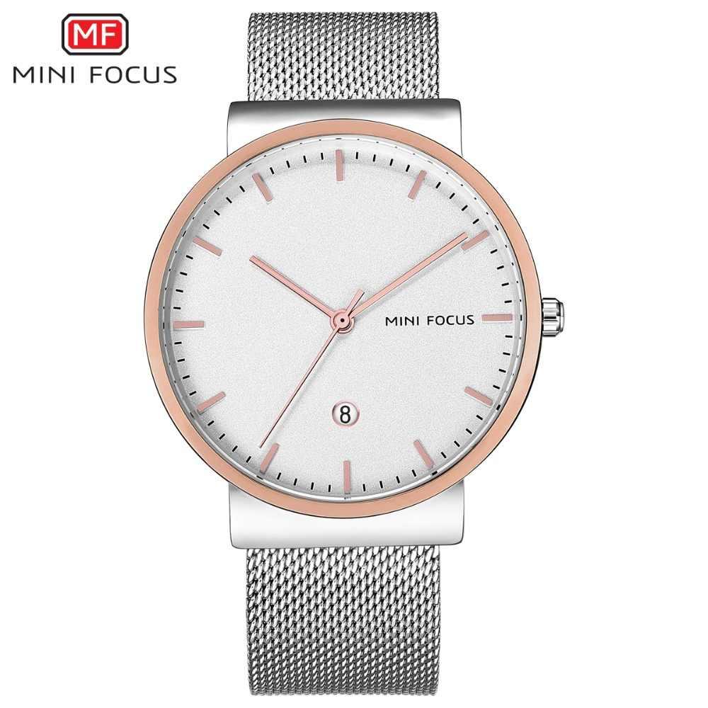 MINIFOCUS montre-bracelet hommes Top marque de luxe célèbre homme horloge Quartz montre-bracelet Quartz-montre Relogio Masculino MF0184G. 02