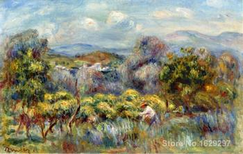 painting with oils Orange Trees by Pierre Auguste Renoir art reproduction Hand-painted High quality