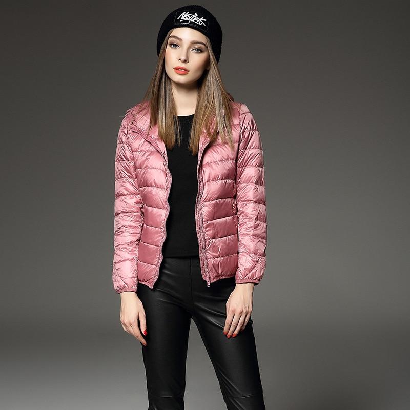 Online Shop brand warm winter coat women ultra light down jacket ...