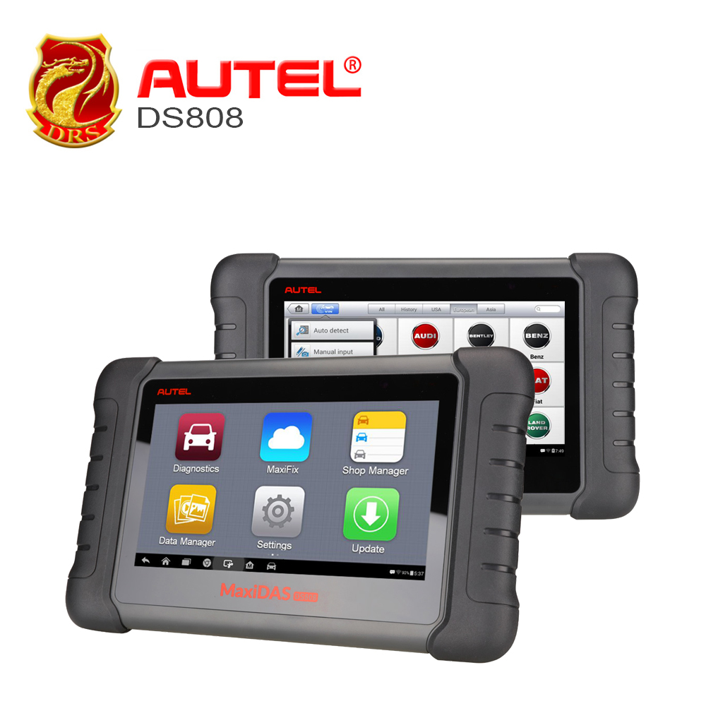 Autel MaxiDAS DS808 Upgraded of DS708 Auto Diagnostic Tool OBD2 Scanner with Key Coding Same Function as MS906 Analysis System