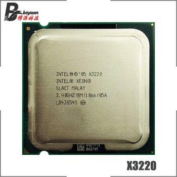Intel Xeon X3220 2,4 GHz Quad-Core CPU procesador 8M 105W 1066 LGA 775
