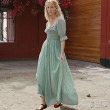 Элегантное Длинное платье с оборками, женское летнее осеннее сексуальное платье с коротким рукавом, женское повседневное плиссированное платье миди с высокой талией