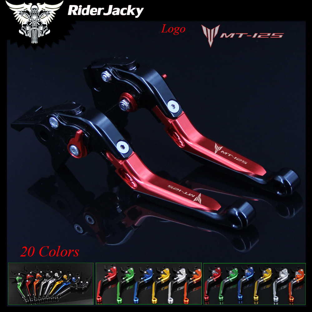Riderjacky Red+Black For Yamaha MT 125 MT125 MT 125 2015/2016 Adjustable Folding Extendable Motorcycle Brake Clutch Levers|Levers  Ropes & Cables|Automobiles & Motorcycles - title=