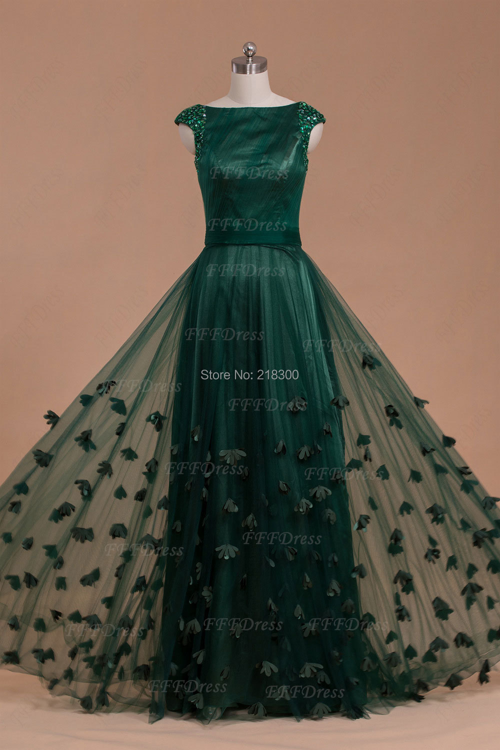 aliexpresscom buy modest boat neck forest green prom