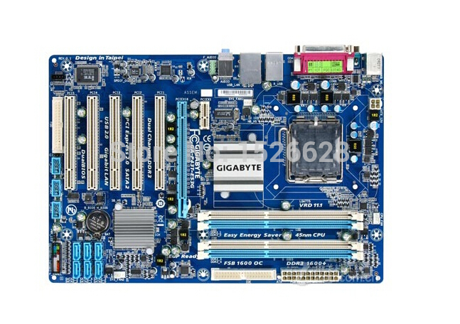 Free shipping original motherboard for Gigabyte GA-P43T-ES3G LGA 775 DDR3 P43T-ES3G boards 16GB P43 Desktop motherborad