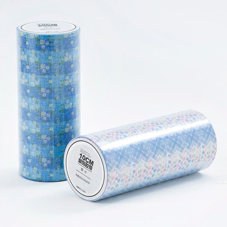 2PCS/LOT Floral lace series 10cm album DIY adornment decorative paper tape masking tape washi tape2PCS/LOT Floral lace series 10cm album DIY adornment decorative paper tape masking tape washi tape