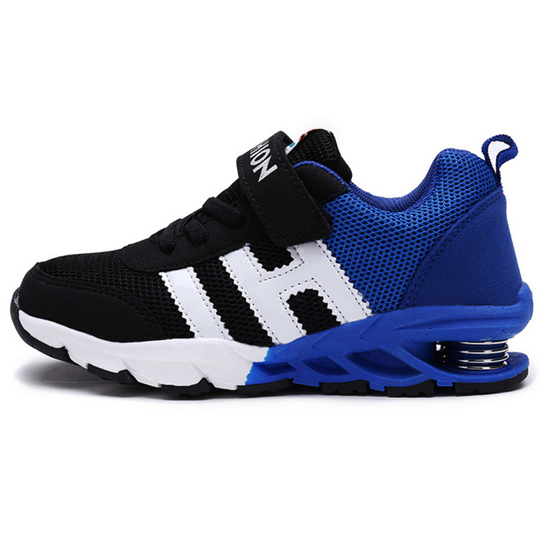 2018 Autumn Fashion Children Shoes Boys Girls Breathable Sport Shoes Slip Spring Net Surface Boy Sneakers For Kids Running Shoes