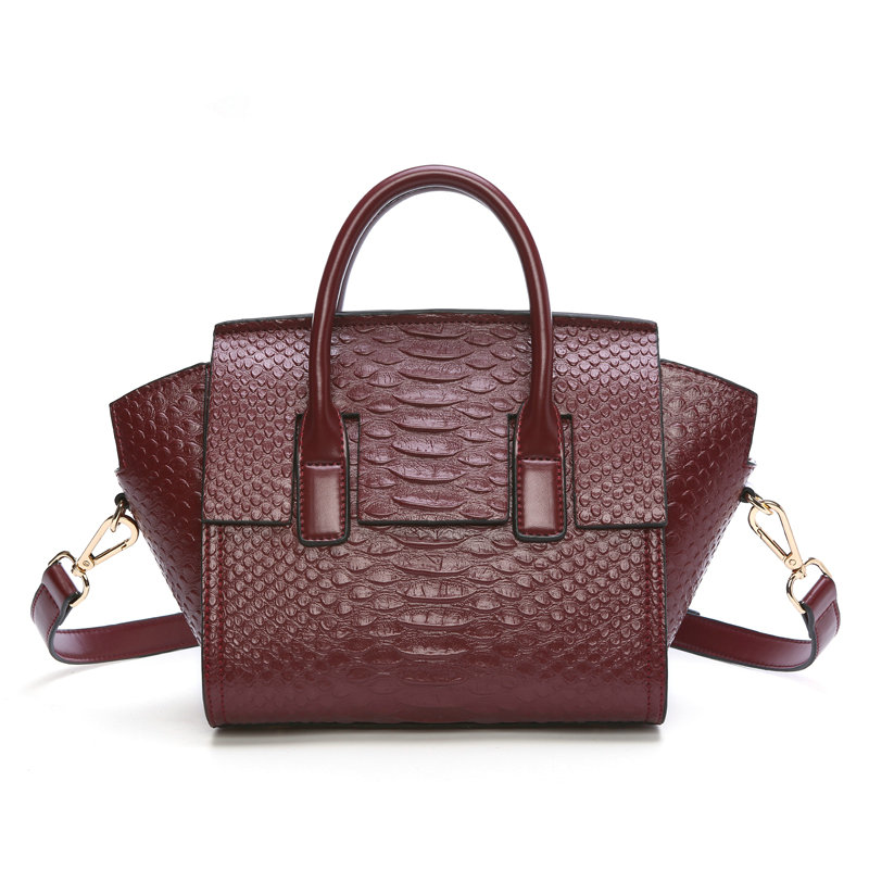 Women Handbag 2017 New Genuine Leather Bags Large Capacity Crocodile Ladies Tote Bag bolsas women shoulder bags Messenger Bags new arrival casual women shoulder bags genuine leather female big tote bags luxury ladies handbag large capacity messenger bag