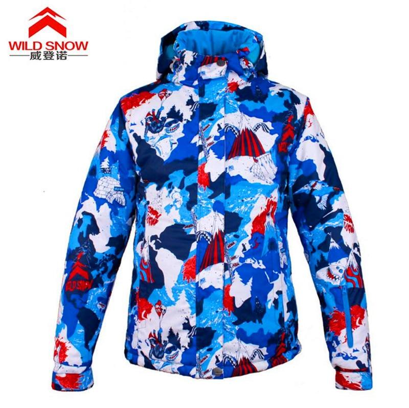 Winter Outdoor Sports Wear Camping Windproof Waterproof Coat Thermal Ski Jacket Full Sleeve Warm Clothing Snowboarding Jackets