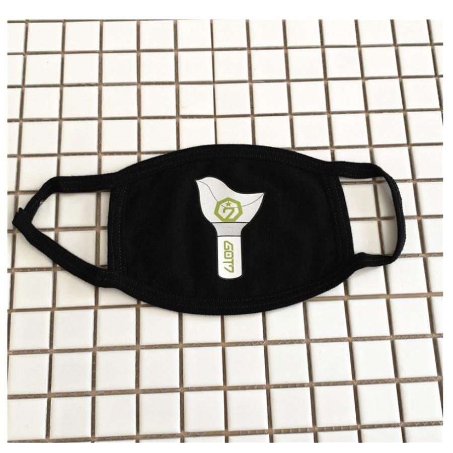 Gewidmet Kpop Got7 Mode Anti-staub Maske Baumwolle Gesicht Mund Maske Muffel Maulkorb Unisex Atemschutz Damen-accessoires Masken