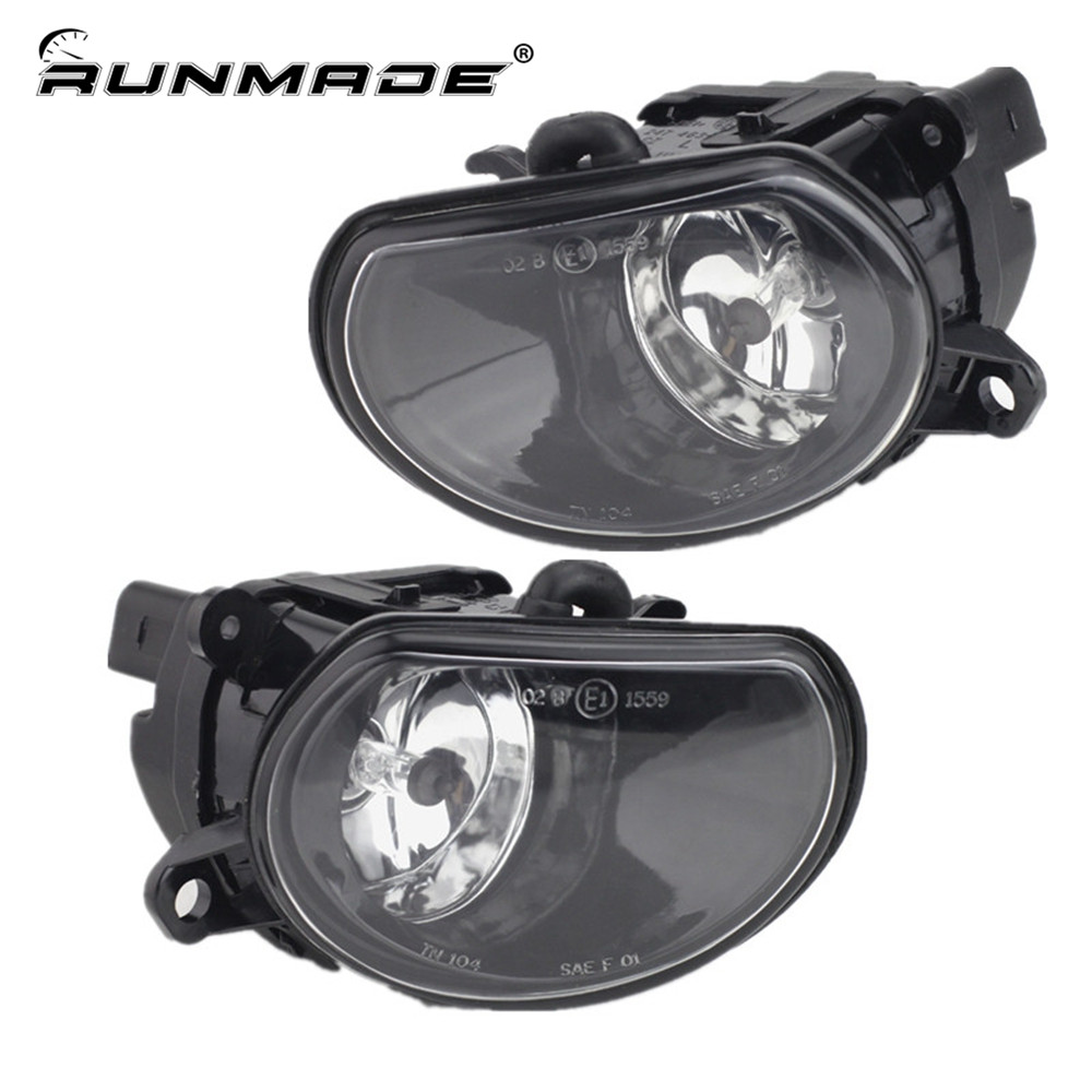 runmade For 2002-2005 Audi A8 Front Lower Side Driving Fog Light Lamp Amber Left or Right side With H7 12V 55W Bulb free shipping for vw polo 2005 2006 2007 2008 new front left side halogen fog light fog light with bulb