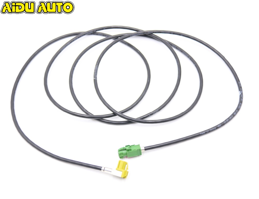 AIDUAUTO HSD CABLE Screen MMI AMI CARPLAY Virtual Cluster LCD Instrument installation Install Harness Wire