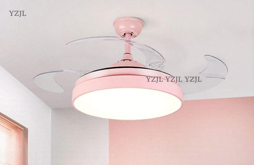 Пульт дистанционного управления Потолочная люстра вентилятор огни светодио дный Ресторан люстры вентилятор спальня детская комната люстр