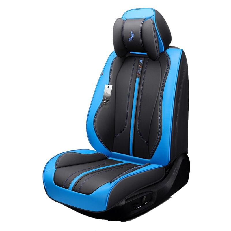 Сиденья (спереди и сзади), новый универсальный подушки сиденья, старший кожа, новый спортивный автомобиль стиль, автомобиль-Стайлинг для сед...