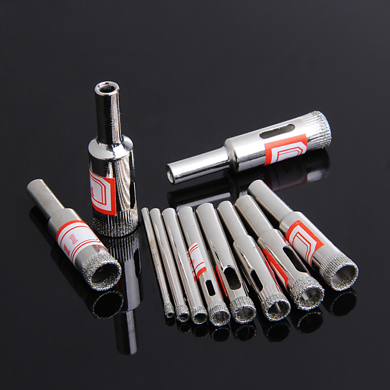 Diamond Coated Hole Saw Drill Set