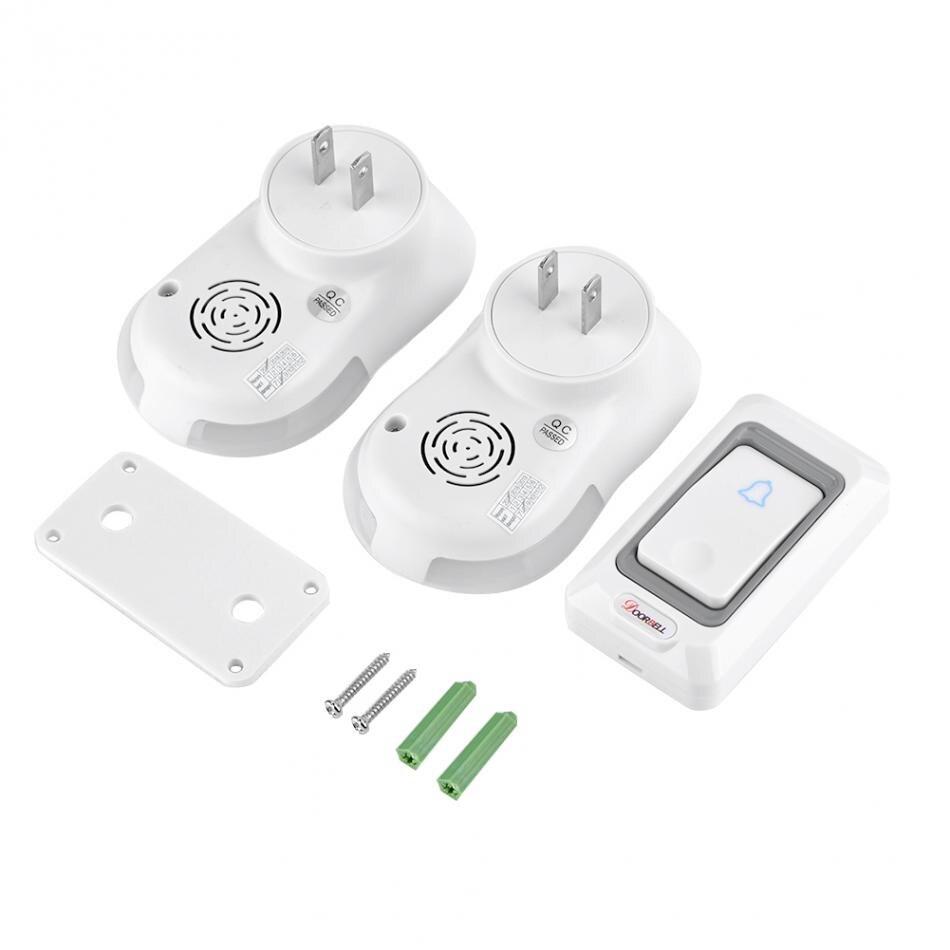 Wireless Digital Doorbell 1 Outdoor Transmitter 2 Indoor