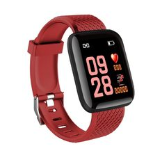 116plus Color Screen Smart Wristband D13 Real-time Heart Rate 1.3 Inch Large Screen Blood Pressure Sleep fSmart Wristband(China)