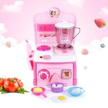 Baby Küche Kochen Simulation Modell Glücklich Mixer Mixer Spielset Küchen  Täuschen Spiel Spielzeug Kinder Spielzeug Geschirr
