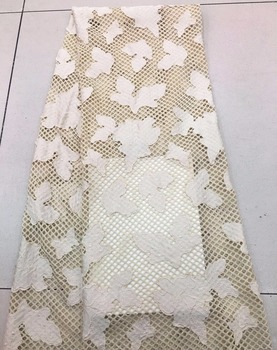 African Lace Net Fabric French Mesh Guipure Lace Embroidery African India Tulle Lace