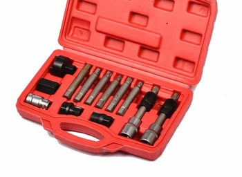 13pcs Alternator Freewheel Pulley Puller Removal Of Alternator Removal Tools free shipping car stying gavr 15b for alternator 15b alternator avr