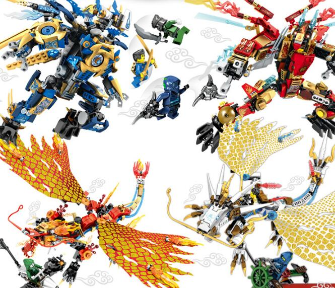 Toys Dragon Knight Building Blocks Ninjagoe Action Figures Enlighten Educational Brick toy For Kids Compatible Legoingly City