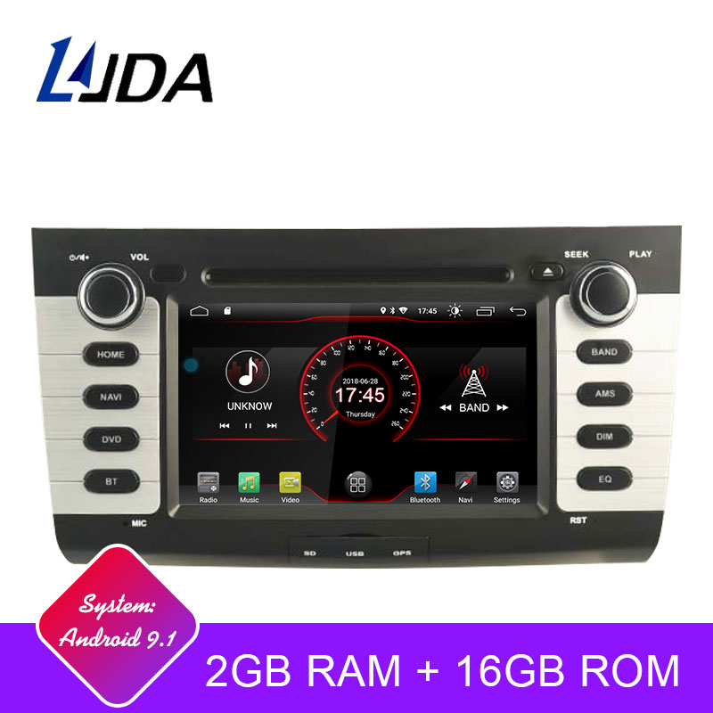 LJDA Android 9.1 Car DVD Player For Suzuki swift 2004-2010 Car Multimedia Player Stereo GPS Navigation IPS Audio 2 Din Car Radio