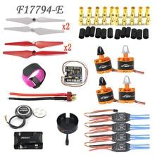 2212 920KV Двигателя 30A ESC APM PX4 PIX 2.4.8 32 Бит GPS M8N 9443 самоконтрящаяся Пропеллер Набор для DIY GPS Drone Quadcopter F17794-E