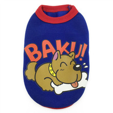 Astounding colorful cartoon-inspired yorkie vest / shirt