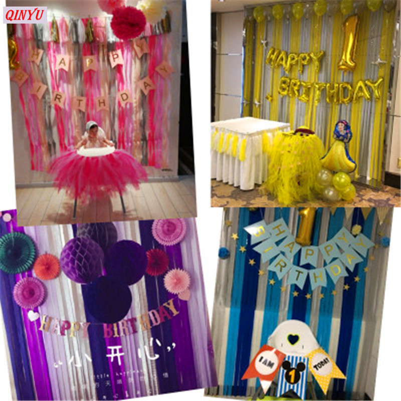 Online Shop Laser Cut Crepe Paper Streamers 005m10m Wrinkled Roll Background Wall Decorations Wedding Birthday Party Supplies 7zM168