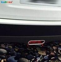 Für Suzuki Vitara Escudo 2015 2016 2017 ABS Chrom Hinten Nebel Licht Abdeckung Trim Foglight Lampe Protector Auto Zubehör 4 stücke-in Chrom-Styling aus Kraftfahrzeuge und Motorräder bei