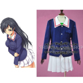 2016 Girls und Panzer Yukari Akiyama Oarai Prefectural Girls High School Cosplay Costume! Acceptable Order Customized