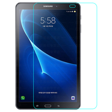 9H HD Tempered Glass membrane For Samsung Galaxy Tab A6 10.1 T580 T585 Screen Protector Film premium screen protector for samsung galaxy s6 s7 a6 a8 j4 j6 plus 2018 tempered glass guard film for j3 j5 j7 2017 cover 2 5d