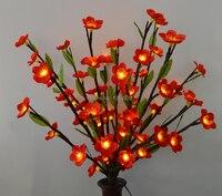 LED Kirschblüten Zweig Licht mit Green Leaf 20