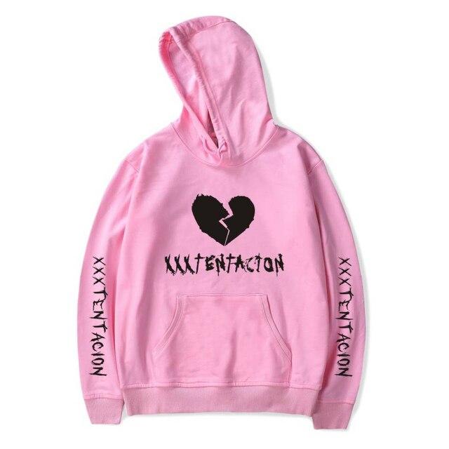 9d32b975665 New XXXTentacion Hoodies Sweatshirt Men Women Casual Pullover Streetwear  Sudadera Hombre Hip Hop Plus Size Funny Print Hoodies