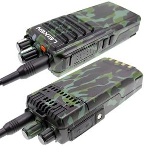 Image 4 - LEIXEN 참고 UHF 400 480MHz 20W FM 햄 양방향 라디오 워키 토키 Transeiver Interphone Camo