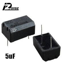 Конденсатор индукционной плиты 275 V-400 V 5 мкФ высоковольтный конденсатор с алюминиевой крышкой, индукционная плита запасных частей