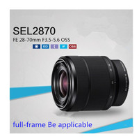 Sony lente de câmera sony 28-70mm, lente sony fe 28-70mm com lente oss sel2870, lente para câmera micro-slr sony