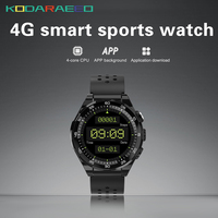 M15 4G smart watch wifi GPS Bluetooth waterproof smartwatch phone heart rate monitor MP3 MP4 player wearable device for Men