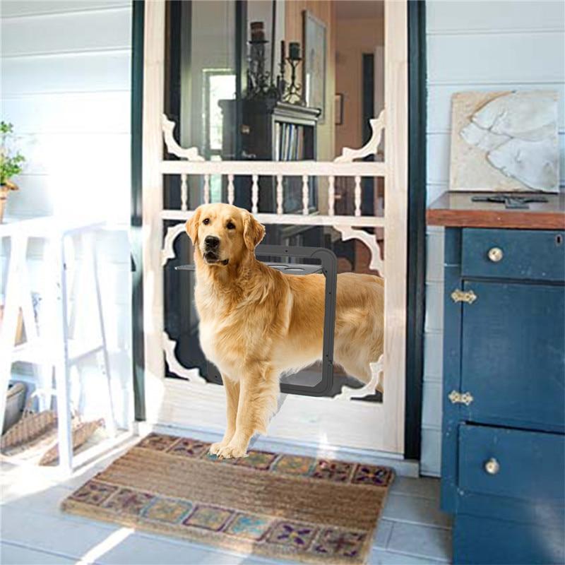 Fml Magnetic Automatic Locking Pet Screen Door Large Dog Gate Pet