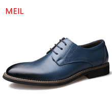 Mens Dress Shoes Genuine Leather Italian Men Brogue Shoes Men Formal Dress Oxfords British Men Pointed Toe Leather Shoes comfort christia bella men pointed toe genuine leather slip on british formal dress shoes vogue summer slippers oxfords plus size 38 47