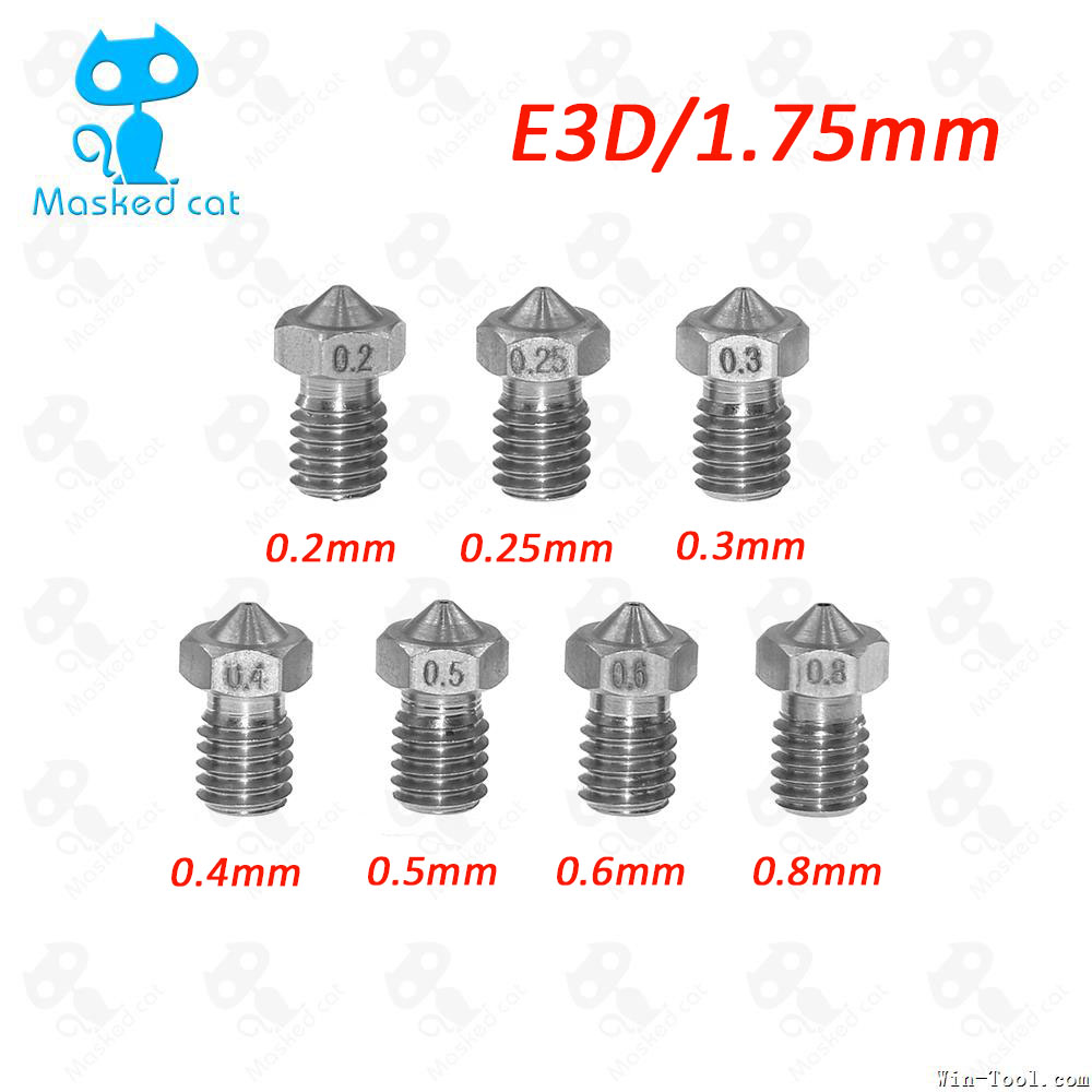 10pcs-lot-3d-printer-parts-extra-e3dv6-nozzle-stainless-steel-nozzles-02-025-03-04-05-06-08mm-for-175mm