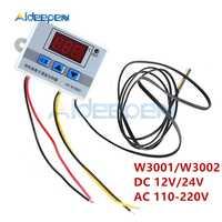 XH-W3001 W3002 12V 24V 220V LED Digital Control Thermostat Temperatur Mikrocomputer Schalter Thermometer Temperaturregler Sensor