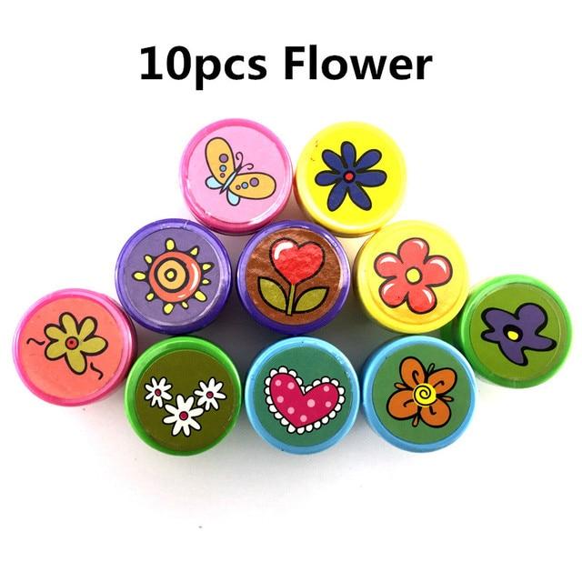10Pcs Flowers