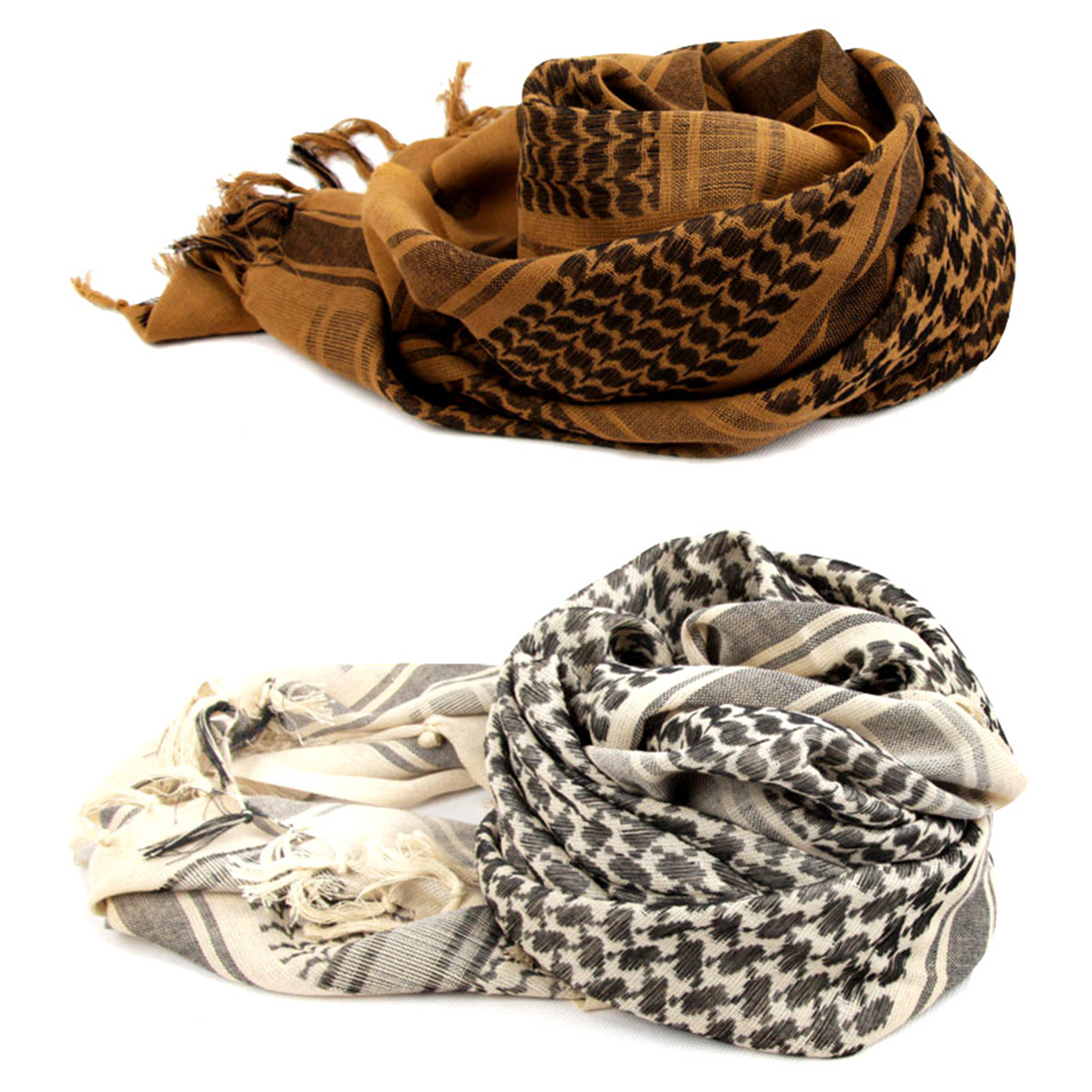 Hunting Army Military Tactical Keffiyeh Shemagh Desert Arab Scarf Shawl Neck Cover Head Wrap Hiking Airsoft Shooting Accessories
