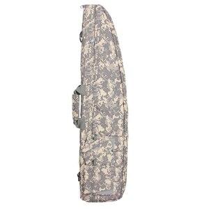 Image 5 - ניילון יוניסקס 98 118cm טיולים תרמיל חיצוני ספורט תיק טקטי רובה תיק צבאי כתף תיק הנשיאה לקמפינג ציד