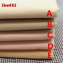 50*145 см плоть цвет Diy кукла кожи текстильная ткань волокно высокой плотности Nap Telas Tissus Вышивание лоскутное ручной работы Costura