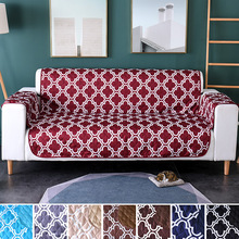 Pet sofa cushion The New printing Dog cat Waterproof non-slip sofacover Brushed pongee single double mat