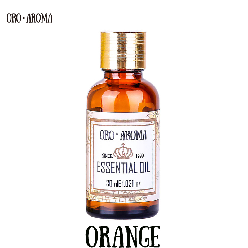 Famous brand oroaroma natural aromatherapy orange oil Moisturizer Skin Digestion Promote Vitamin c Comfort orange Essential oil beautiful beginnings vadesity conditioning oil moisturizer